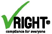 VRIGHT: Die Compliance-Management-Software für Ihr Unternehmen Logo